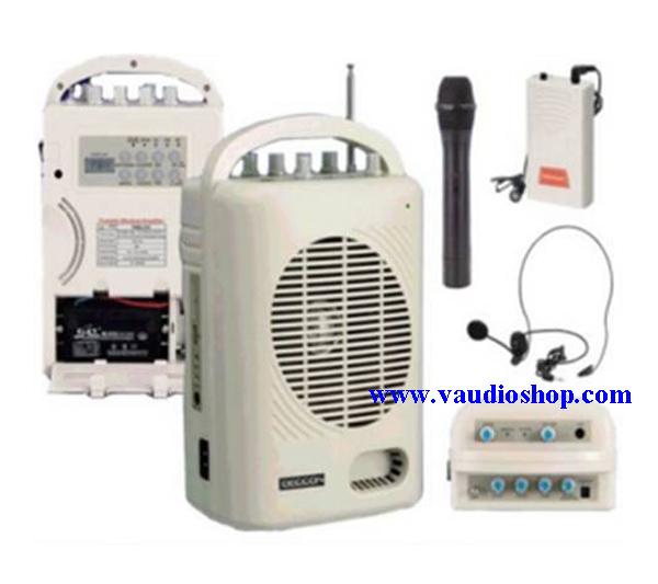 ตู้แอมป์อเนกประสงค์ DECCON PWS-210UTB USB/SD CARD/MP3/FM