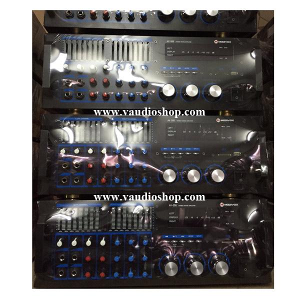 Power Mixer Karaoke MODIVOX AV-500 (USB/SD CARD/MP3/EQ)