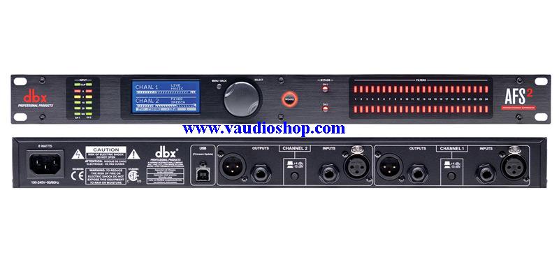dbx AFS2-V Anti-Feedback Processor (ของแท้ มหาจักร)