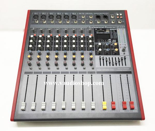 Power Mixer Amplifier EUROTECH PMX-FX1000DSP