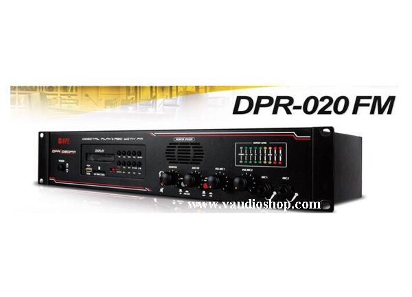 เครื่องเล่นและบันทึกเสียงแบบดิจิตอล NPE DPR-020FM