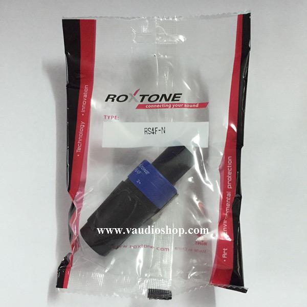ROXTONE RS4F ปลั๊กสปีคคอน (ส้ม,น้ำเงิน,เขียว)