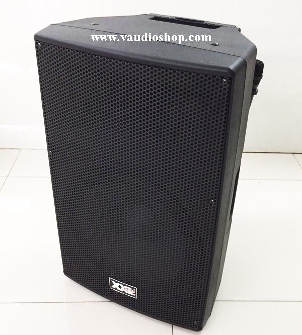 ตู้แอมป์ XXL Power 15นิ้ว รุ่น SJ-15V (USB/SD Card/ไมค์ลอยVHF2ตัว/แบตแห้ง)