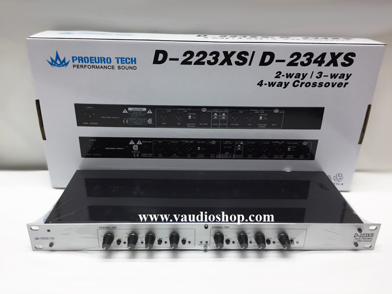 Crossover EUROTECH D-223XS สีเงิน