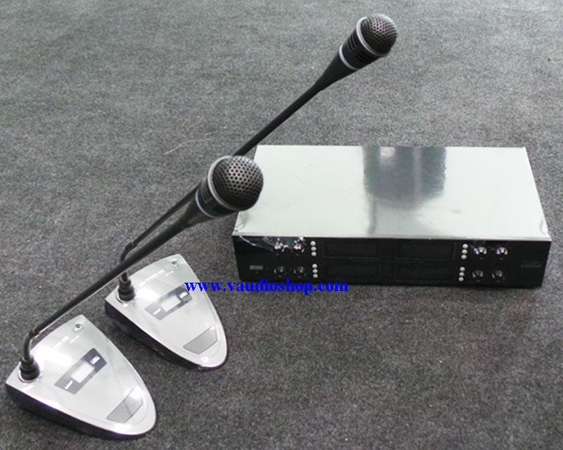 ชุดไมค์ประชุมไร้สาย EUROTECH รุ่น UHF-129 (ไมค์ประชุม 8 ตัว)