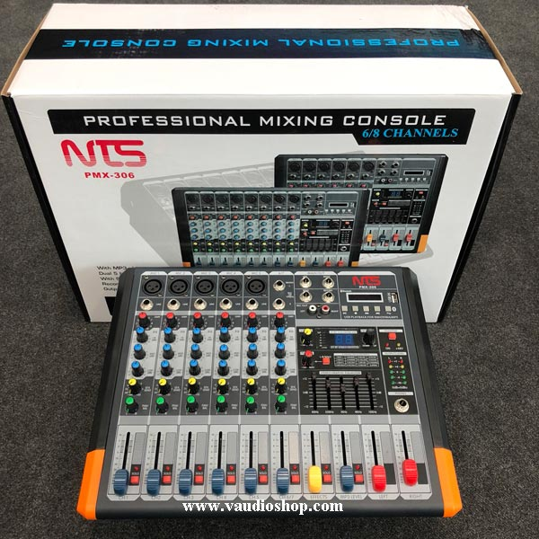 Power Mixer NTS PMX-306 USB