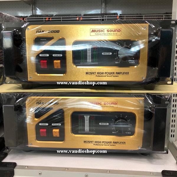 Mono Power Amp Mosfet with Line 70v-100v MUSIC PAK-1000L