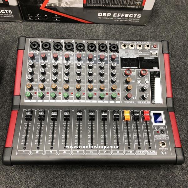 Power Mixer Amplifier EUROTECH PMX-MINI8FX
