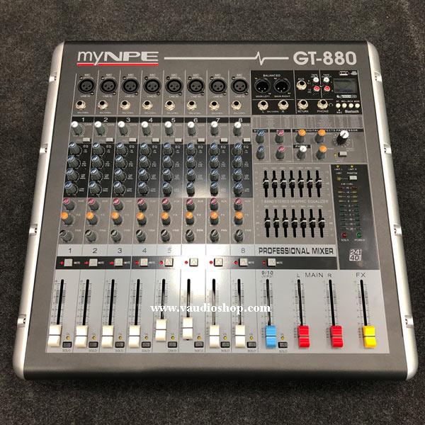 Power Mixer my NPE GT-880 Bluetooth (800W, 8Mono)