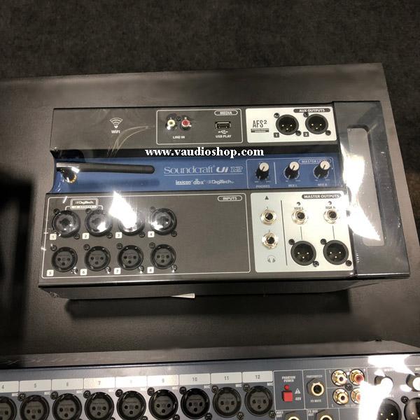 SOUNDCRAFT Ui12 : 12-input Tablet-Controlled Digital Mixer