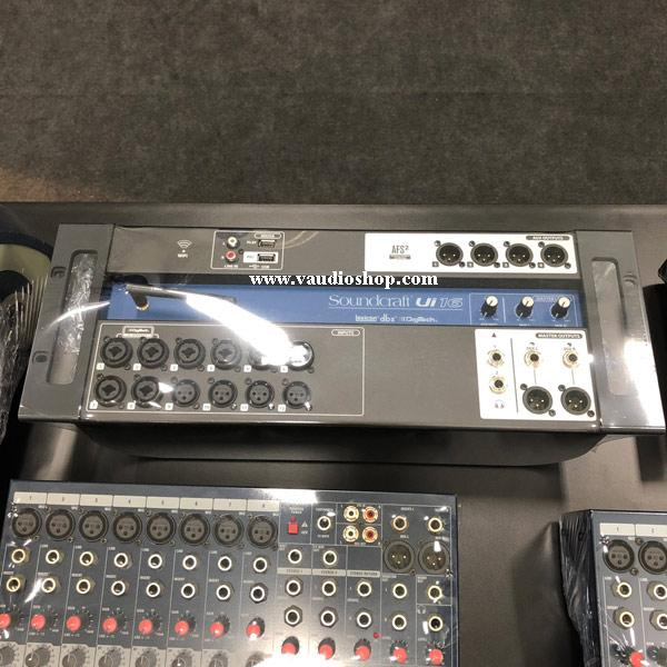 SOUNDCRAFT Ui16 : 16-input Tablet-Controlled Digital Mixer