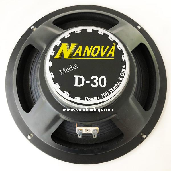 ดอกลำโพง 10 นิ้ว NANOVA D-30