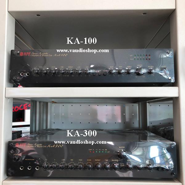 Karaoke Stereo Amplifier NPE KA-100 สีดำ