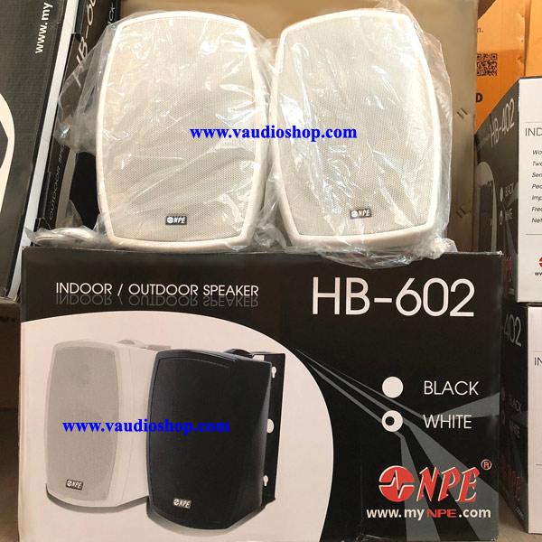 ตู้ลำโพง NPE 6 1/2 นิ้ว 2 ทาง HB-602B