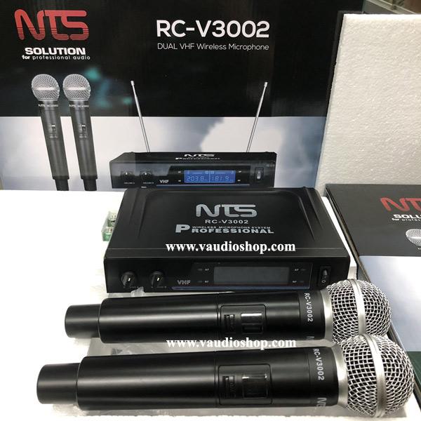 Wireless Microphone NTS RC-V3002 ถือคู่ VHF