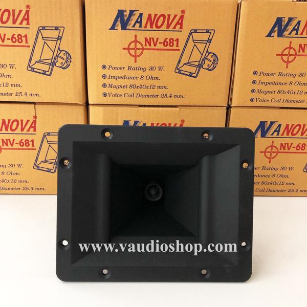 ทวิตเตอร์ปากเป็ด 6x8 นิ้ว NANOVA NV-681