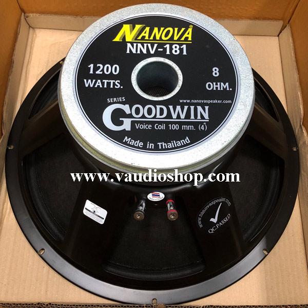 ดอกลำโพง 18 นิ้ว 1200W NANOVA Goodwin Series NNV-181