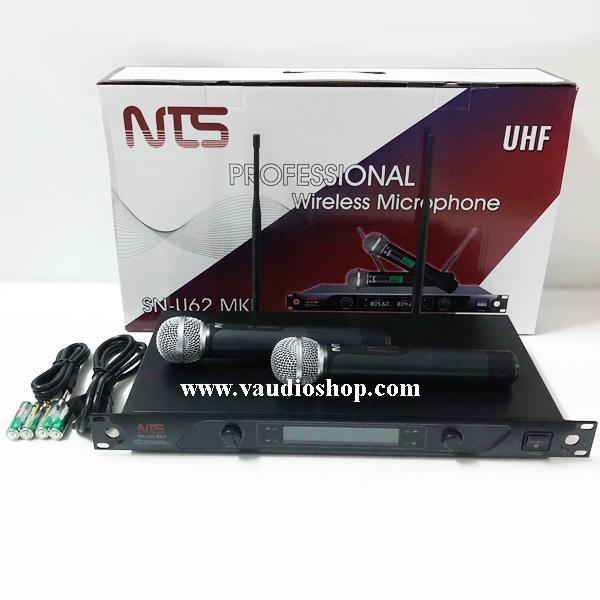 Wireless Microphone NTS SN-U62 MK II ถือคู่ UHF