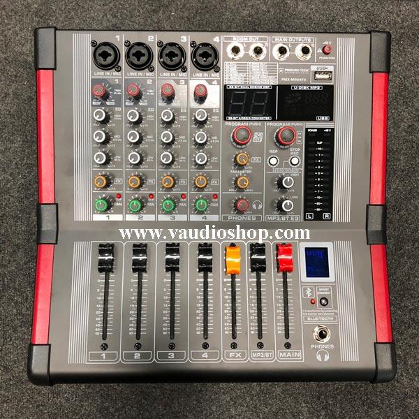 Power Mixer Amplifier EUROTECH PMX-MINI4FX