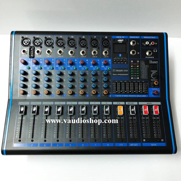 Power Mixer PROEUROTECH PMX-XP8300DSP (Effect,USB,Bluetooth)