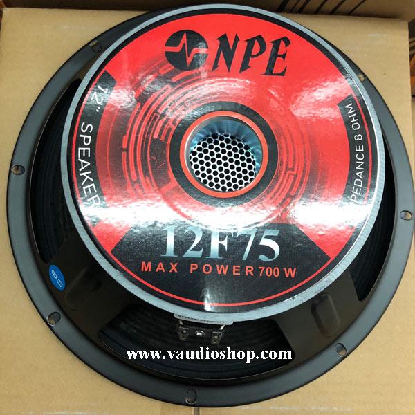 ดอกลำโพง 12 นิ้ว NPE รุ่น 12F75 (ว้อยซ์ 3 นิ้ว 350-700W)