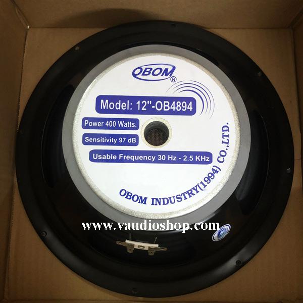 ดอกลำโพง 12 นิ้ว OBOM รุ่น OB4894