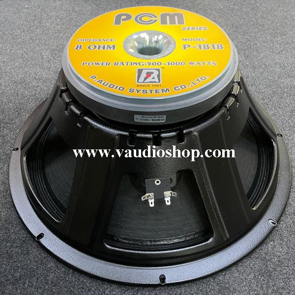 ดอกลำโพง 18 นิ้ว P.AUDIO PCM รุ่น P-1818