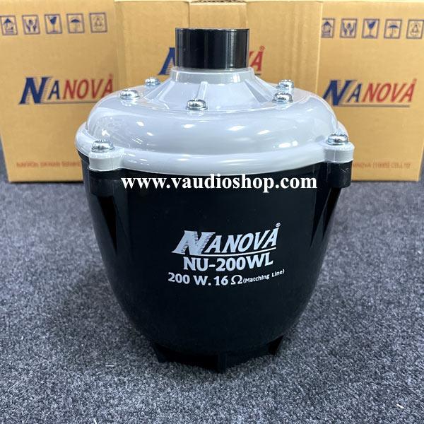 ยูนิตฮอร์น NANOVA 200WL มีไลน์ รุ่น NU-200WL