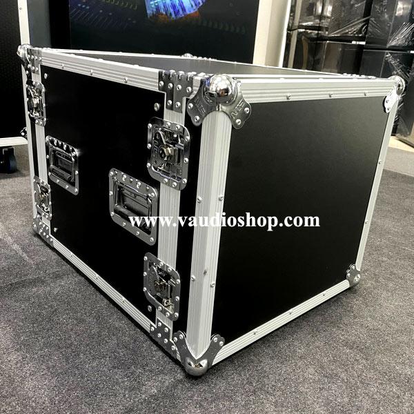 RACK ไม้ผิว PVC ลึก 20นิ้ว ฝาทึบหน้า-หลัง ขนาด 10U NTS SC-R10U ดำ