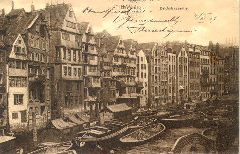 โปสการ์ดเก่า ประเทศเยอรมัน ปี 1907
