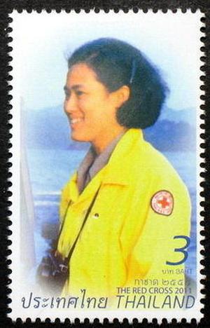 แสตมป์ชุดงานกาชาด ปี 2554