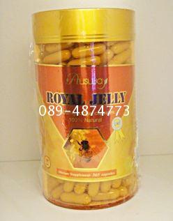 นมผึ้งออสเวย์Ausway Royal jelly ราคา1แถม1