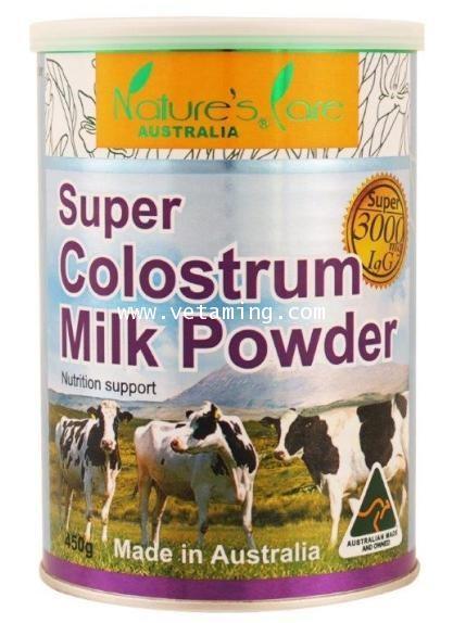 นมเพิ่มความสูง Nature\'s Care Super Colostrum Milk Powder 3000 IgG ราคาพิเศษ