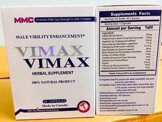 VIMAX ไวแม็กซ์ อาหารเสริมท่านชาย1แถม1 ของแท้ราคา 1xxx