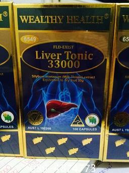 Wealthy Health Liver Tonic33000 ดีท๊อกตับ ราคาพิเศษ