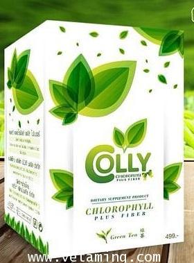 คอลลี่ คลอโรฟิลล์ พลัส ไฟเบอร์ Colly Chlorophyll Plus Fiber ราคาถูก