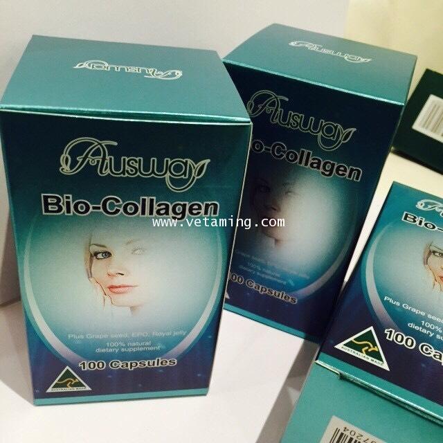 Ausway Bio-collagen ออสเวย์ไบโอคอลลาเจน ราคาส่งถูกที่สุดซื้อ1แถมของแถม1