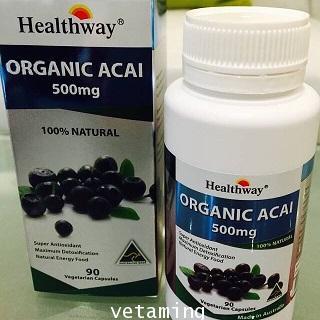 อาซาอิ เบอรี่ acai berry healthway ราคาพิเศษสุด ลดน้ำหนัก