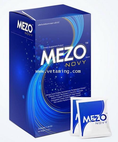 Mezo Novy เมโซ่โนวี่ ลดน้ำหนัก ราคาส่ง xxx รีวิวของแท้-ปลอม pantip