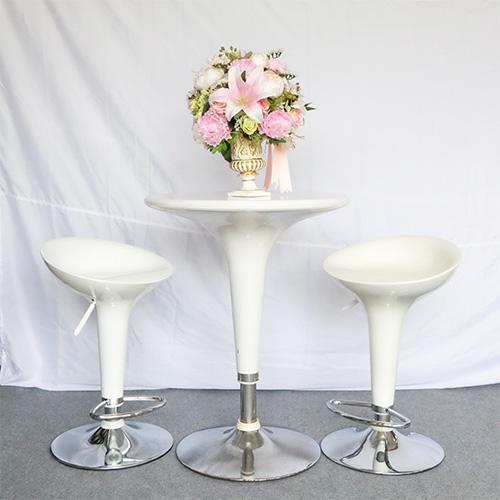 เช่าโต๊ะ - โต๊ะสตูไฟเบอร์+เก้าอี้สตูลไฟเบอร์ 5