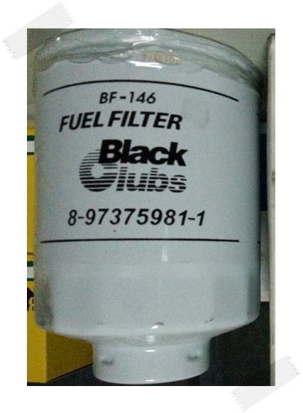 หม้อกรองโฟล์คลิฟท์ม้  BF-146 FUEL FILTER