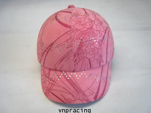 หมวกกันน๊อคมีแก๊ป nexttex ลายกุหลาบ-ชมพู (เลิกผลิต)