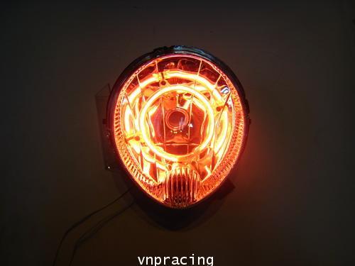 ไฟหน้า fino นีออน  (เลิกผลิต)