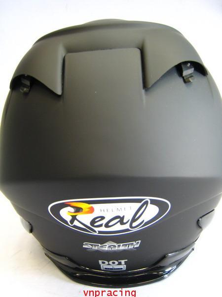 หมวกกันน็อต REAL Stealth ดำด้าน (เลิกผลิต) 3
