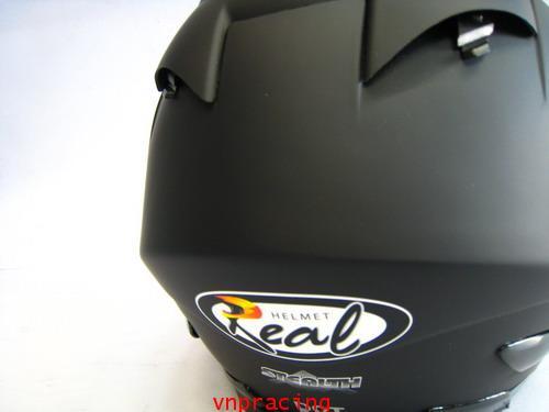 หมวกกันน็อต REAL Stealth ดำด้าน (เลิกผลิต) 7