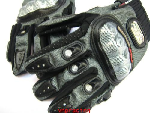 ถุงมือเคฟล่า นำเข้าอย่างดี Pro-Biker สีเทา ส่งฟรีทั่วไทย คลิ๊กด้านใน