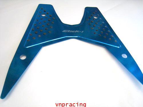แผ่นวางเท้า อลูมีเนียม คลิกไอ สีน้ำเงิน (เลิกผลิต)