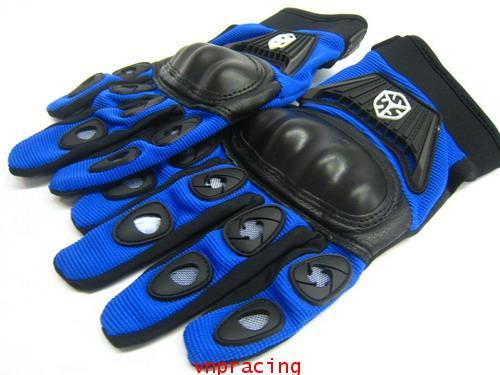 ถุงมือ SCOYCO รุ่น MC14C สีน้ำเงิน