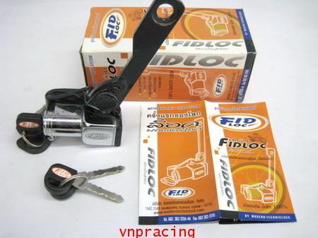 ชุดล็อครถจักรยานยนต์ ฟิดล็อค FIDLOC (ของหมดแล้วครับ)