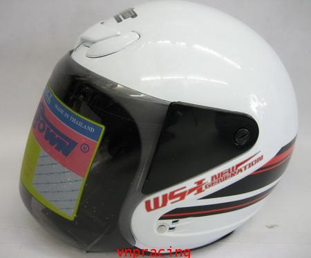 หมวกกันน็อค SPACE CROWN รุ่น WS-1